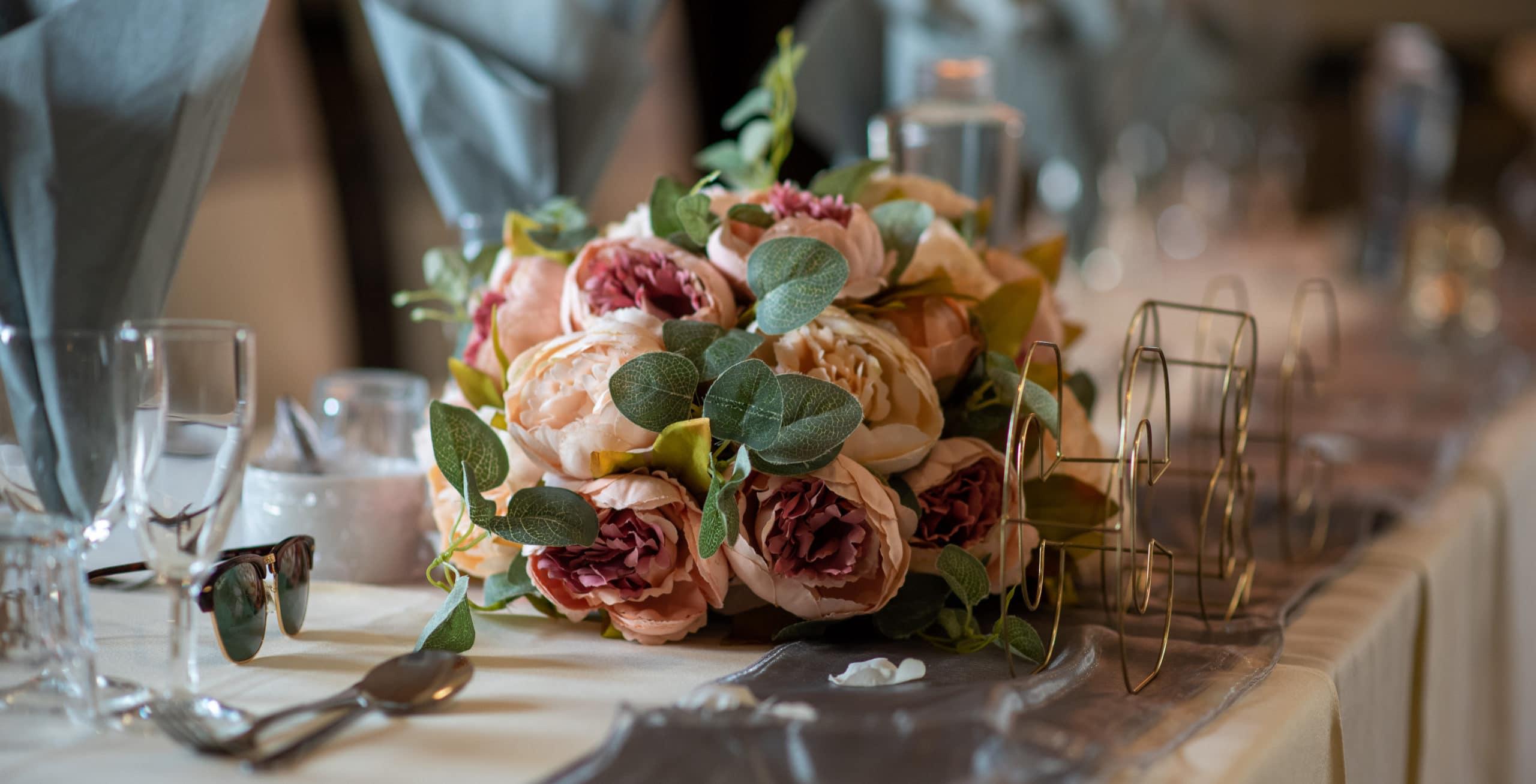 Wedding flowers for a Nottingham wedding