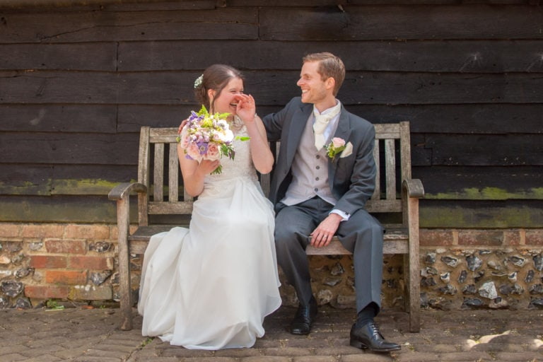 Old Luxters Barn wedding venue, Oxfordshire | Amy & Dave's Wedding