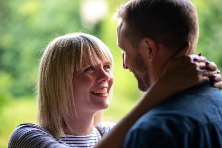 Lynsey and David | Engagement photoshoot | Creswell Crags